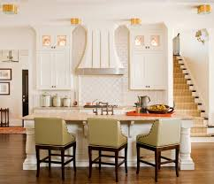 arabesque tile with gray bar stools kitchen contemporary and san