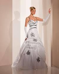 robe de mari e noir et blanc robe mariee noir et blanche robe soiri mode daily