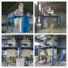 dry mixing mixer machine mix plant for wall paint filler putty