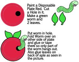 How To Make A Paper Worm - worm crafts for ideas to make bookworms inchworms with