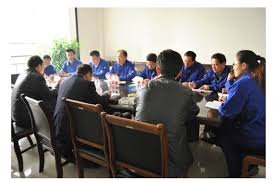 the bureau production company jining inspection and quarantine bureau deputy product line to the