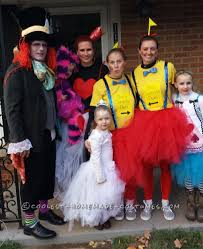 halloween costumes for nine year olds coolest alice in wonderland group costume homemade halloween