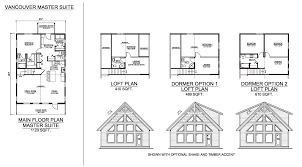the vancouver master suite prefab cabin and cottage plans