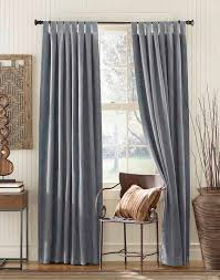 best curtains cameron luxe microsuede tab top wide width panel curtainworks com