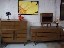 mid century kroehler bed room set great retro lines sold