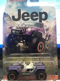 matchbox jeep 2016 amazon com matchbox jeep hurricane concept purple toys u0026 games