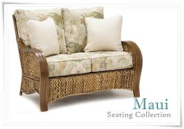 Maui Casual Living Room Furniture Collection - Casual living room chairs