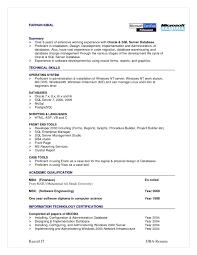 Front End Developer Resume Sql Server Dba Sample Resumes Oracle Plsql Developer Resume Raji K