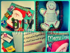 set of 3 assorted recycled christmas card by craftsnamesandthings