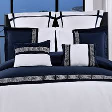 Blue And White Comforters Amazon Com Duvet Cover Set And Pillowcases 7 Piece Luxury Soft