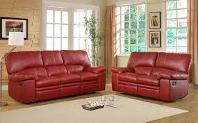 Leather Reclining Sofa Sets Homelegance Kendrick Reclining Sofa Set Bonded Leather