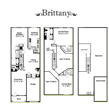 brittany floorplans
