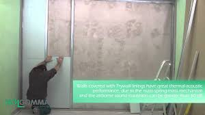 Insulating Existing Interior Walls Thermal Acoustic Insulation Trywall Existing Wall Covering Youtube