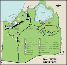 Brooklyn Michigan Map by Hayes State Parkmaps U0026 Area Guide Shoreline Visitors Guide