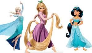 celebrating disney princesses colour