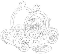 665 Princess Carriage Stock Vector Illustration Royalty Free