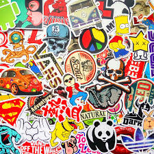 computer graffiti 50pcs vinyl graffiti creation stickers computer suitcase