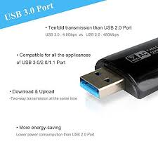 smooth and slim wifi dongle anewish usb 3 0 nano 802 11ac