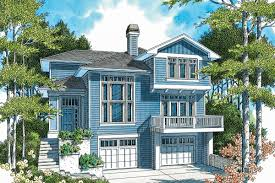 hillside home plan with options 69180am architectural designs