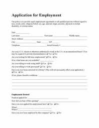 Resume Form For Job by Job Application Form Free Pdf Employment Download Life Skills