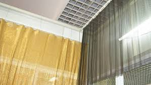 Metal Coil Drapery Scale Mesh Curtain An Elegance And Gorgeous Curtain