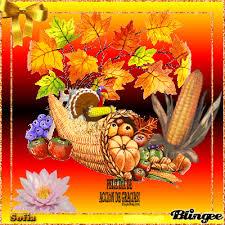felíz día de acción de gracias imágenes animadas y con frases