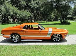1969 mustang orange 1969 ford mustang automotive ford mustang ford