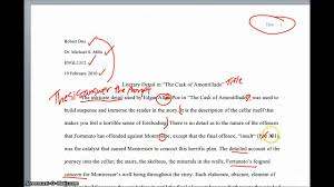 sample analytical essays analysis of stong fiction analysis paper youtube