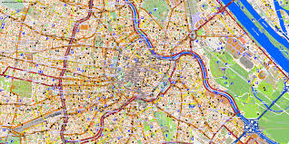map of vienna city maps vienna