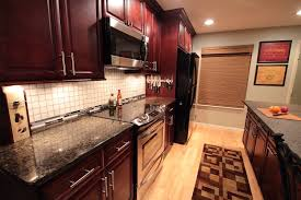 Kitchen Cabinets Columbus Ohio by K Cherry With Glaze Kitchen