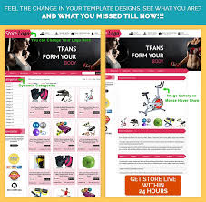 ebay template design ebay template design in pink workout theme 39 99 html