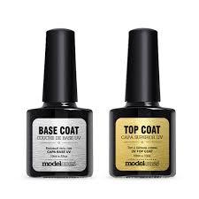 amazon com new modelones top and base coat gel polish soak off
