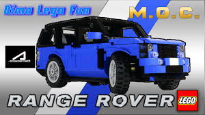 понторезка Range Rover академика из Lego 68 как собрать Youtube
