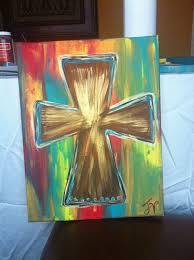 Cross On - best 25 cross canvas paintings ideas on cross canvas