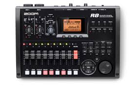 r8 recorder interface controller sampler zoom