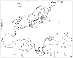 India Blank Outline Map by Geography Blog Blank Map Of Europe Printable Outline Map Of Europe