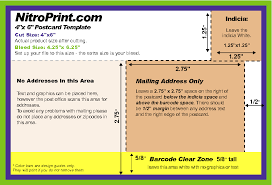 10 best images of postcard double usps 4x6 sidedtemplate