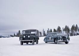 land rover classic jaguar land rover classic launches unique arctic adventure