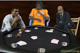 Poker Meme - the meme poker table troll football