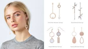 mismatched earrings trend 3 jewellery trends to up your ss17 style the