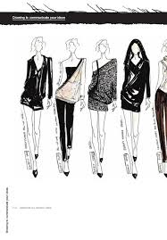 sketch of top ten modern basics fashion design 05 fashion drawing