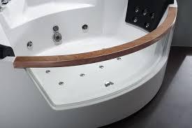 Corner Whirlpool Bathtub Eago Am197 5 U0027 Rounded Clear Contemporary Corner Whirlpool Bath Tub