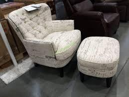 pulaski furniture fabric accent chair with ottoman u2013 costcochaser