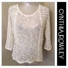boho crochet 73 cynthia rowley sweaters cynthia rowley boho crochet open