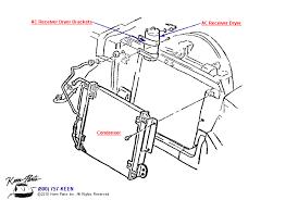 keen corvette 1963 corvette ac reciever dryer condenser parts parts