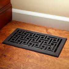 Touch Floor L Wicker Style Bronze Floor Register Hardware