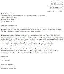 sample cover letter for senior program manager cover job cover