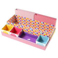 Desk Organizer Box Desk Paper Organizer