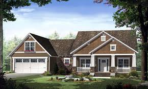 craftsman cottage plans single story craftsman house plans home style craftsman single