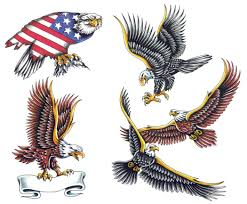 bald eagle tattoos designs cool tattoos bonbaden